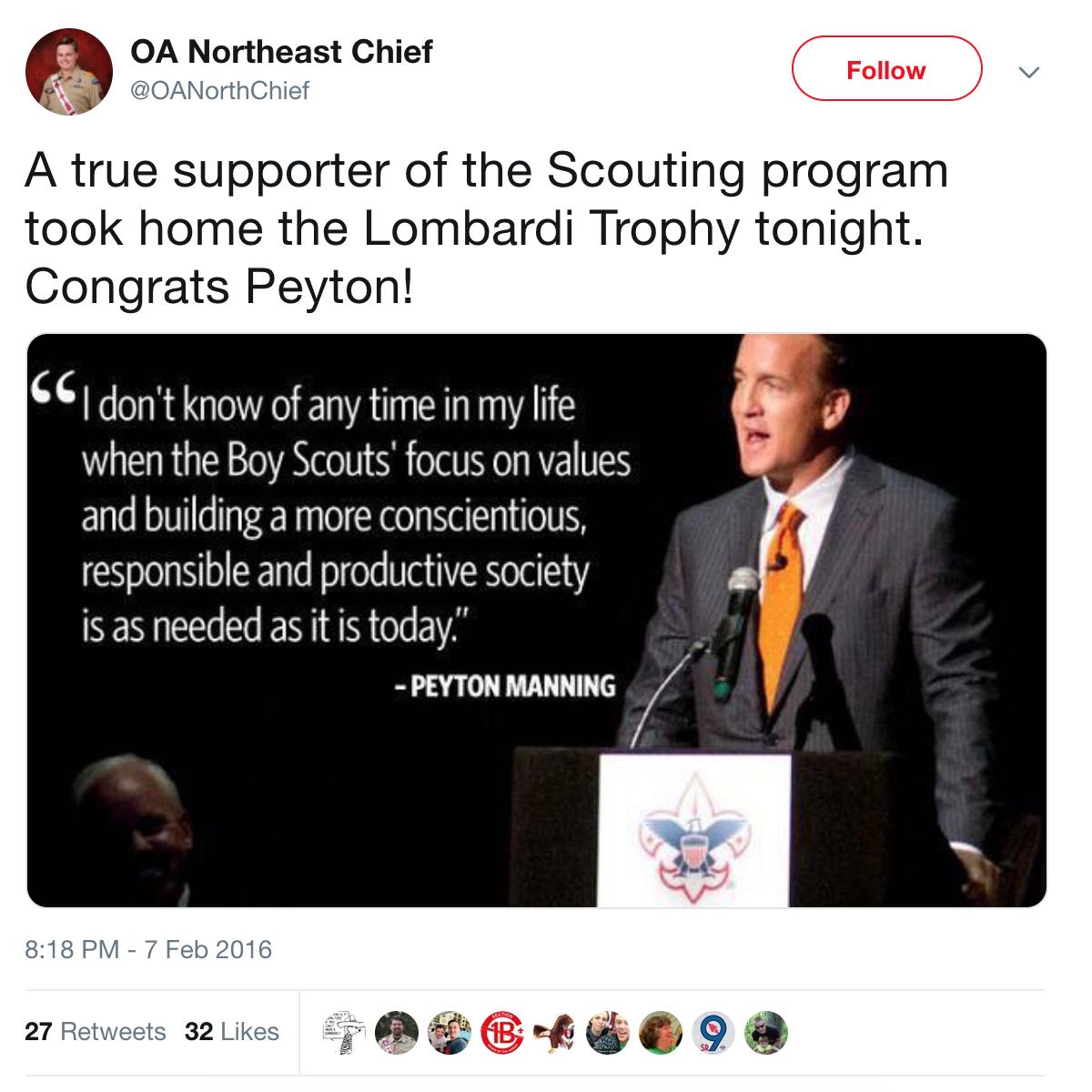 OANER Peyton Manning