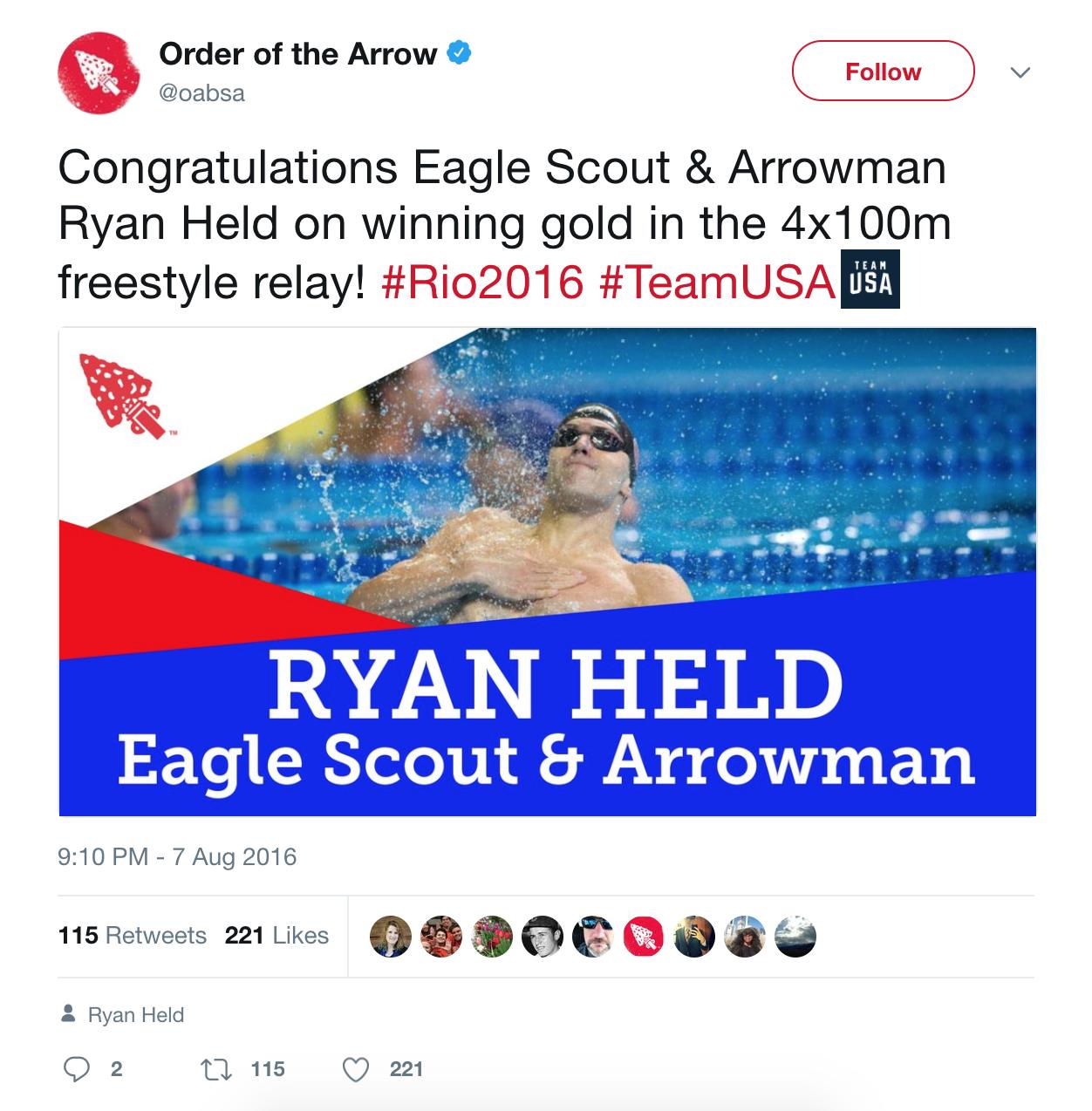 Ryan Held OA Twitter