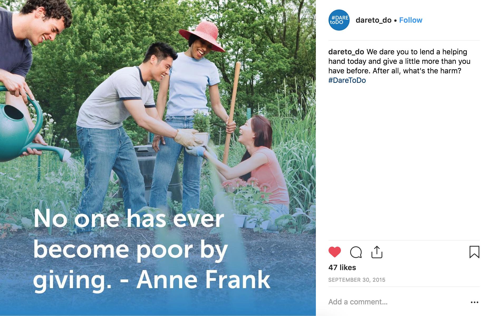 DTD Instagram Anne Frank