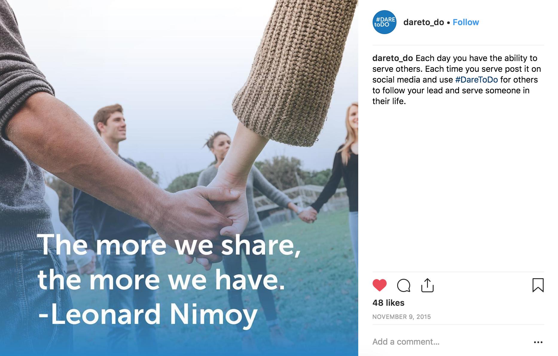 DTD Instagram Leonard Nimoy