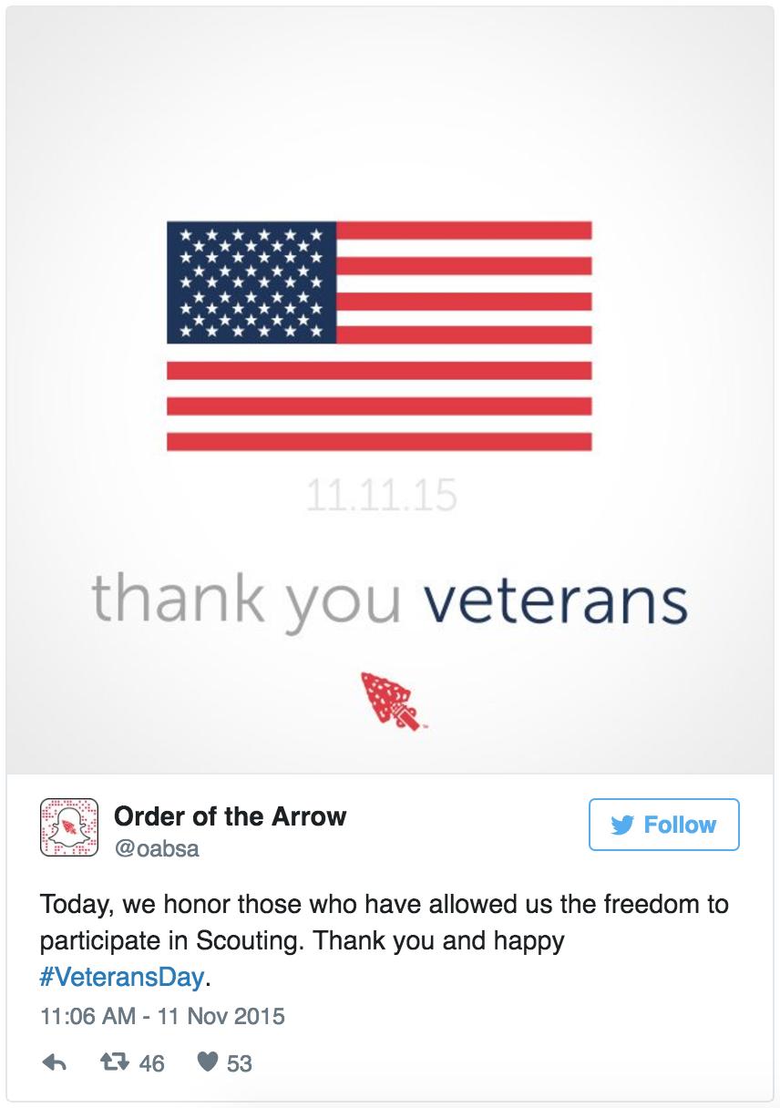 Twitter Veterans
